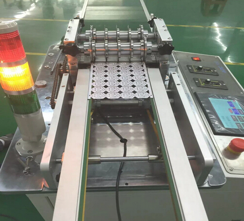 Belt transporting Economic Depaneling Machine easy to control with good quality material,YSVJ-650