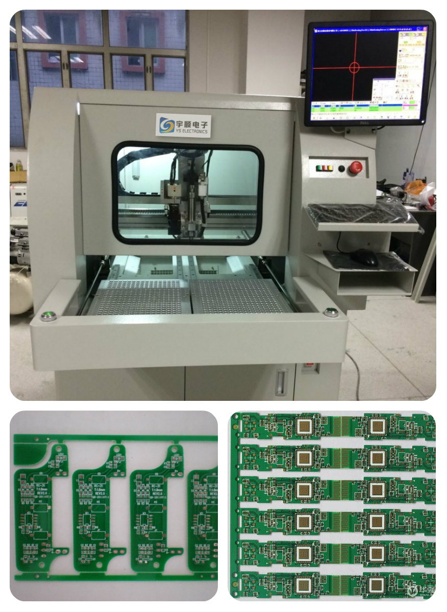 Automatic Dust Collector cnc Metal Cutter Machine PCB Drilling Router China manufacturer PCB Depaneling Router
