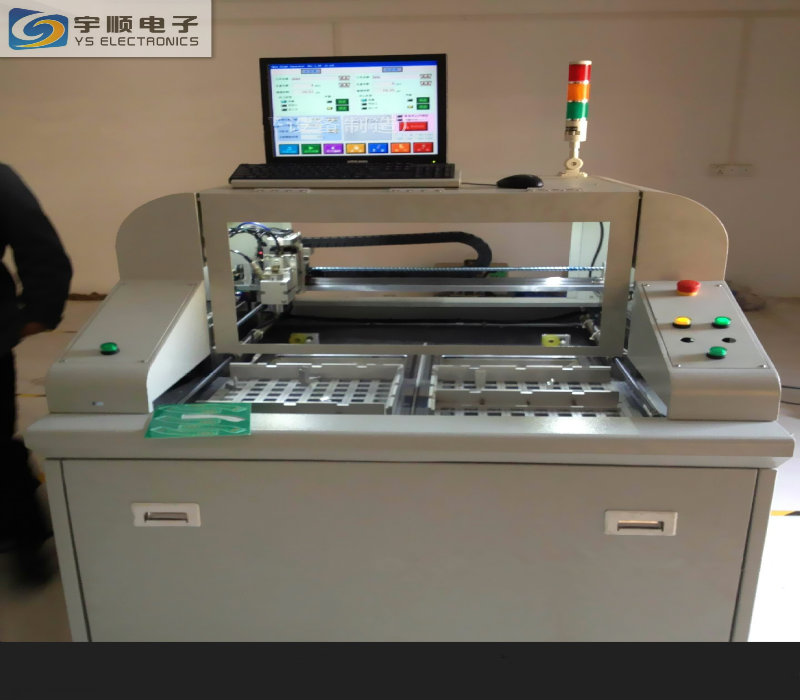2-way Sliding Exchanger PCB Cutter  Machine